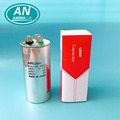 Aluminum shell 450V starting & run CBB65 capacitor 60mdf with colorful box