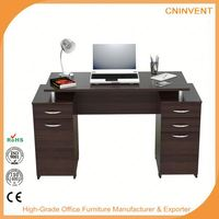 New selling custom design wood corner computer desk with good prices