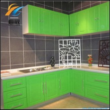 High quality PVC decoration board Green PVC kitchen board