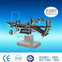 Top manufacturer Nantong Medical electric comprehensive operating table carbon fiber operating table With Long-term Service