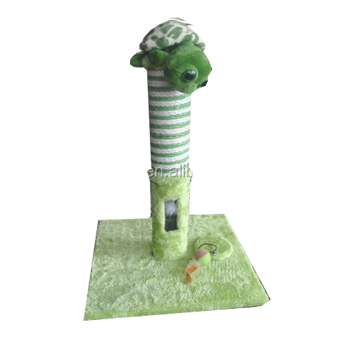 Cute Style Cat Scratcher and Perch Cat Climbing Trees With Plush And Sisal Materials