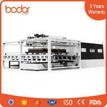 Exchange table protective cover auto feeding laser cutting machine price