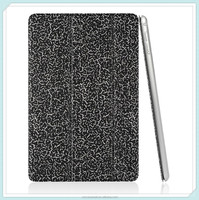PU Leather Smart case for Apple iPad mini 4 Ultra Slim case with Black color