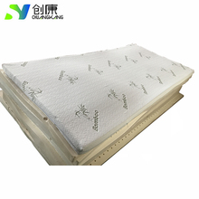 Hot Selling Bamboo fiber protection 100% full natural latex mattress