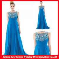 HM0055 Latest Designer High quality OEM wholesaler crystal beaded vintage sexy mother of the bride beach wedding dress