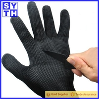 China suppliers 2016 New Working Safety stainless steel cut safety gloves