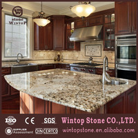 GCT0357 Standard Size Double Bullnose Granite Kitchen Countertop