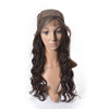 Unprocessed 99j red human hair lace front wig with body wave,supply red human hair wig,cheap silk lace cap for wig making