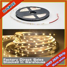 5 Meter SMD 2835 LED Tape Warm white LED Flexible Stripe No-waterproof 60LED/M DC 12V Super Brightness New Arrival 300LED