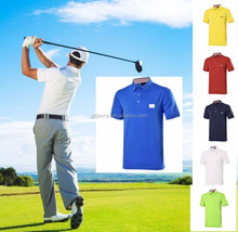 2017 new arrival Golf sport wear short sleeve fashionable Golf T-shirt S-3XL for summer Mens golf polo shirts