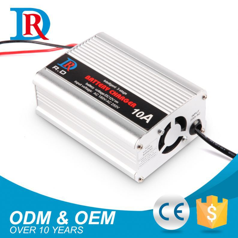 China Alibaba Best Selling 12V 10A Golf Cart Battery Charger