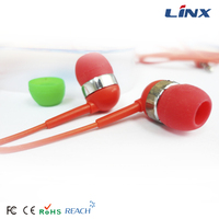 LX-E010 good cheap earbuds with replacement silicone earbud