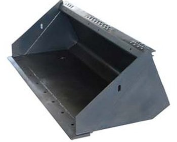 skid loader attachments standard bucket
