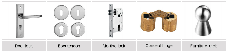 Stainless steel wooden & door Hinges /stainless steel self -closing spring door hinge