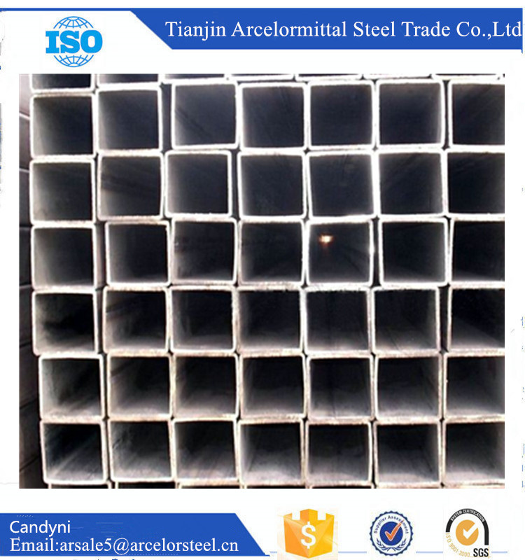 Taobao BS1387 Black 1mm Thick Steel Square Pipe With SGS Test China Products