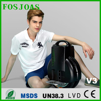 Fosjoas V3 black/white airwheel Q3 fashion smart electric scooter d tablet PCs using Android, IOS, Symbian and Windows OS.