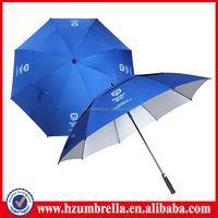 Promotion gifts 8 ribs auto open golf umbrella cost