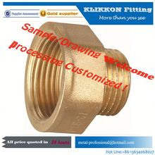brass 3 way pipe connector