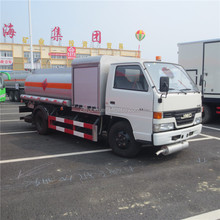Small fuel tanker 5000 liters gas refuel truck