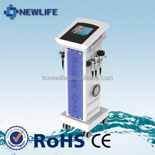 RUV501 5 handles 3 head RF 40k cavitation and 1M cavitation ultrasound fat reduce machine
