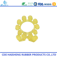Cixi customized high precision colorful flower shape silicone nbr rubber washer