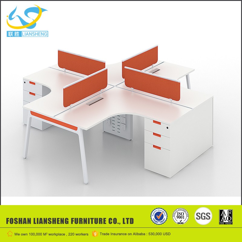 2016 movable partition system office workstation new product in china LS-LB08