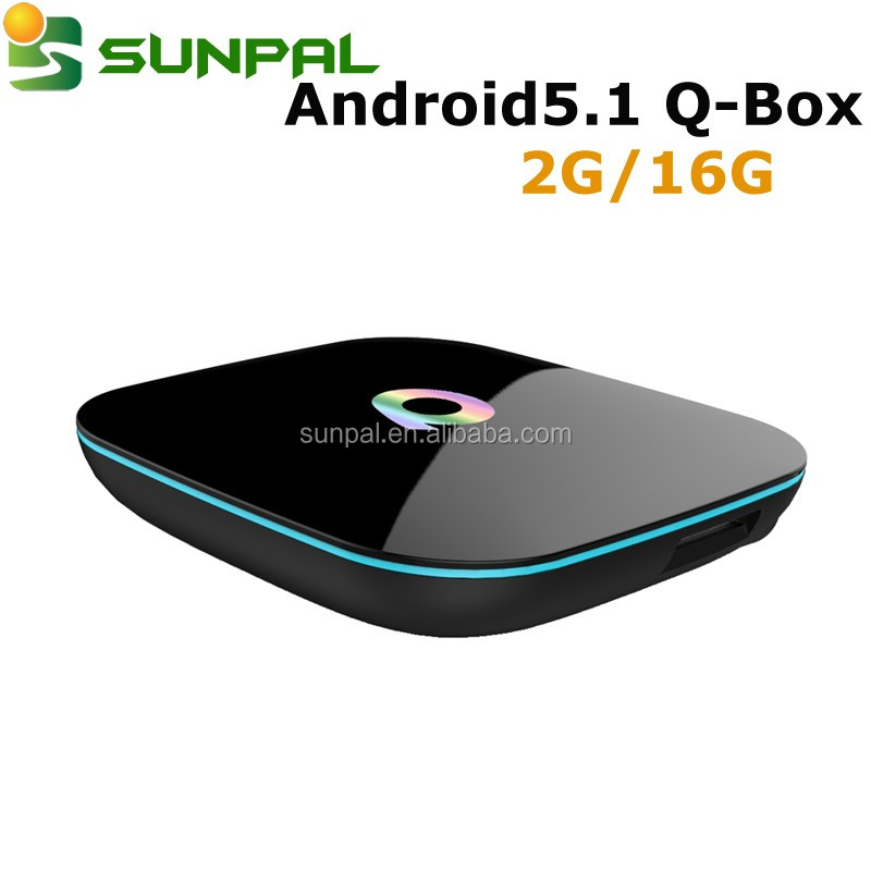 Q BOX Android TV Box S905 Quad Core UHD 4K android 5.1 support blu-tooth 4.0 set tv box