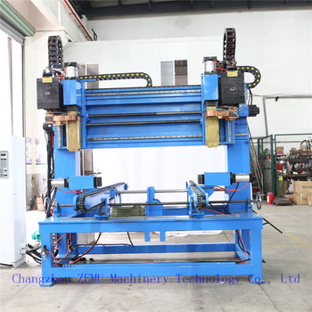 Corrugated Fin Spot Welding Machine for Embossment