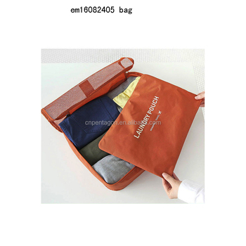 2016 new wholesale laundry pouch clothes package bag storage bag