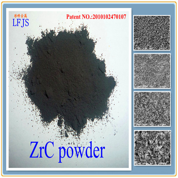 Low price wholesale lot stock zirconium carbide cermet powder Oxidation resistance degree of hardness high