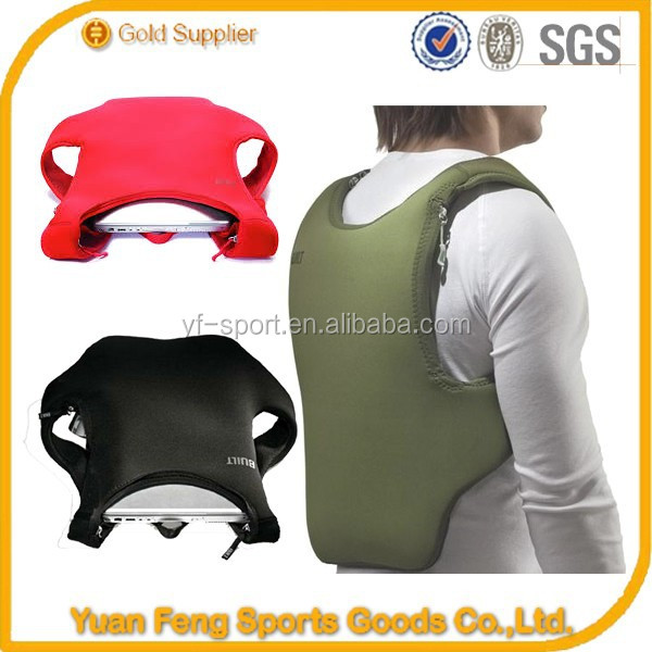 wholesale neoprene backpack laptop bags solar power backpack made in china