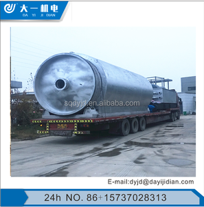 DAYI Hot Selling Scrap Tire Pyrolysis Plant/ Scrap Plastic Recycling Machine/ Waste Tires Pyrolysis Machinery
