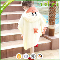 baby bath blankets/baby bath hooded poncho towel kids bath towel with hooded