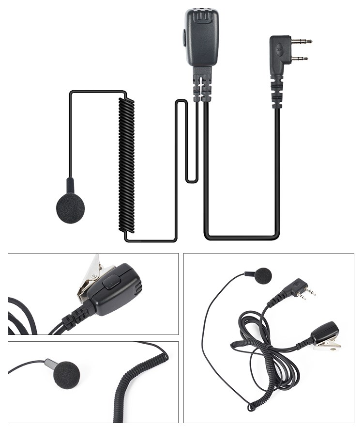 Referee Communicator Wireless Walkie Talkie Headset With Microphone