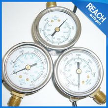 Different type promotional cheap lpg gas pressure gauge