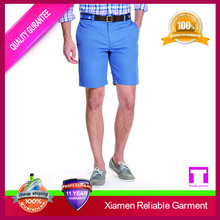Fashion design casual style cotton mens cargo shorts /soft men's shorts