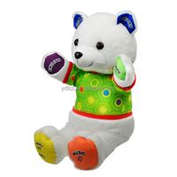 Stuffed talking english toy/Plush talking story toy
