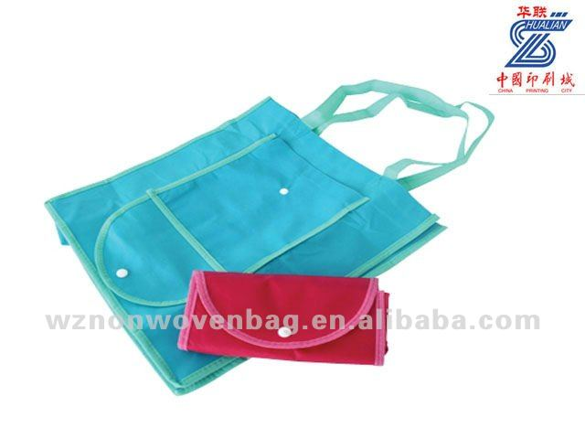 2014 new design promotional eco nonwoven foldable bag(HL-1097)