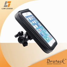 Outdoor Sports Waterproof 360 Degree Bicycle Handlebar Mount Case Mobile Holder For iPhone