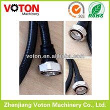 "rf cable jumper, 1/2"" superflex cable 7/16 Male DIN to DIN Male connector ,din male cable assembly"
