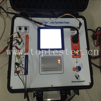 Three Phase Power And Distribution Transformers Current Transformer Test Set, Turns Ratio Meter