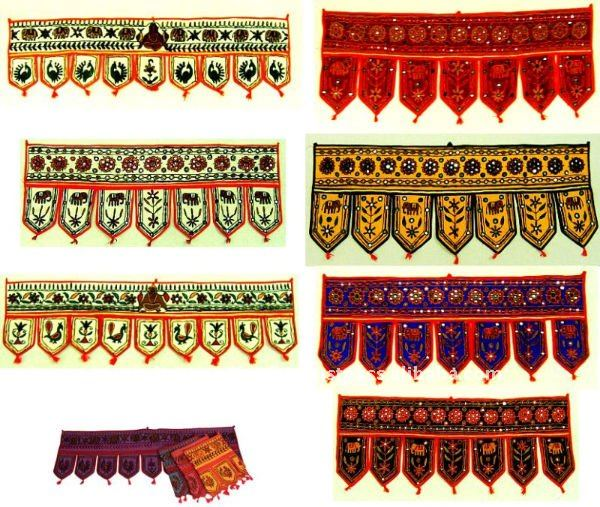 Bohemian Home Door Valances India- Wall hangings- Door Hangings Wholesale Lots -New Bollywood Designer Door Hanging