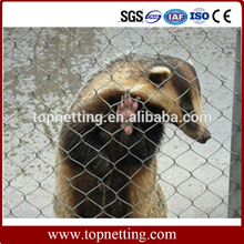 AISI 316 X-tend Knotted Rope Mesh/Zoo Animal Cage Mesh Netting