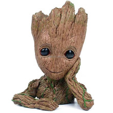 Anime Figure Anime Toys Guardians of the Galaxy2 Groot Original PVC Action Figure 18cm