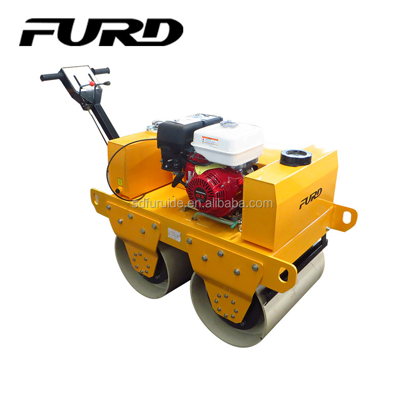 Hand Push Double Drum Road Roller For Sale (FYL-S600)