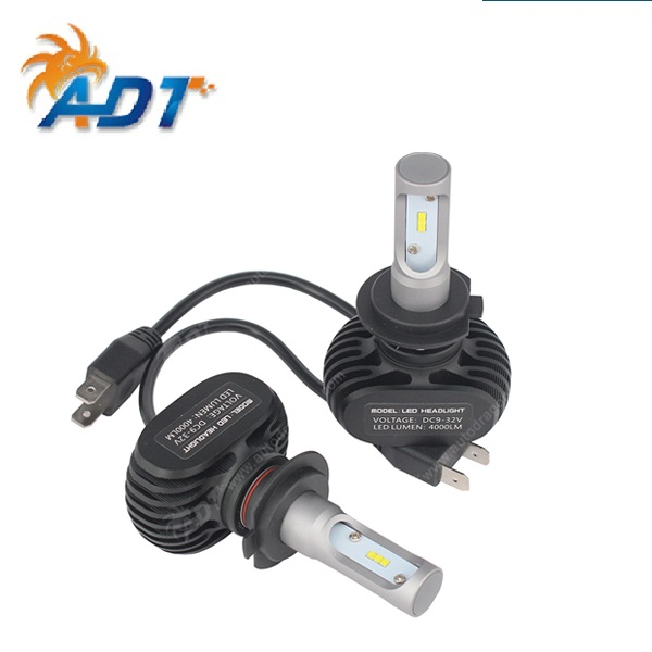 S1 <strong>Auto</strong> H3 H8 H11 H4 Led H7 Bulb Car Headlight High Low Beam 50W 8000LM 12V Fog Light Kit