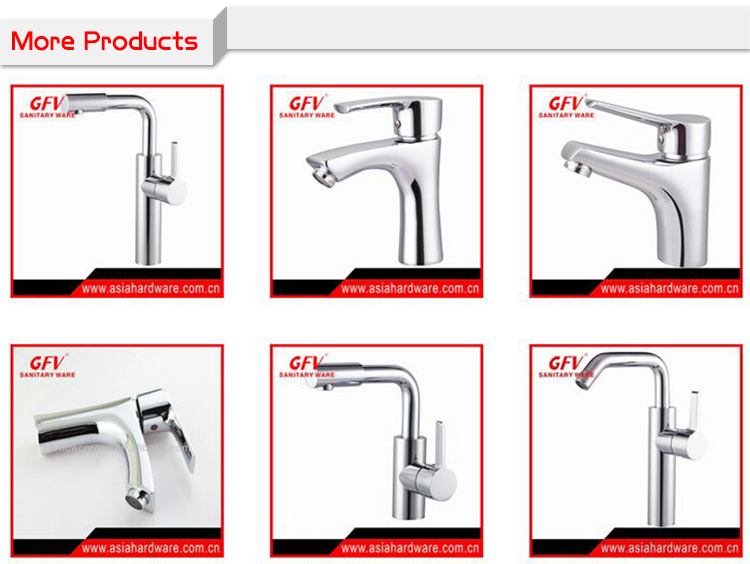 GFV-K1077 Factory Deck Mounted brass chrome china kitchen faucet