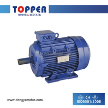 5 HP,4 POLE Y2 series three phase electric motor,three phase pump motors