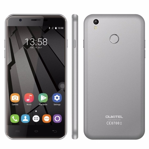 Original Free Sample OUKITEL U7 Plus Mobile Phone 5.5 inch 2.5D Polished Android 6.0 MTK6737 Quad Core 4G Smartphone