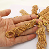 OB040 Jewelry making Supplie,Amazing Bone carving,Detail Hand carved large Gecko